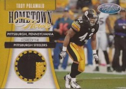 2011 Panini Certified Hometown Heroes Troy Polamalu