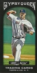 2011 Topps Gypsy Queen John Lackey Black Mini