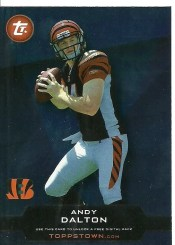 2011 Toppstown Andy Dalton Code