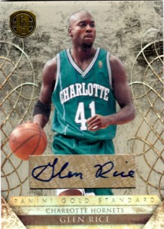 2010/11 Panini Gold Standard Glen Rice Autograph Card
