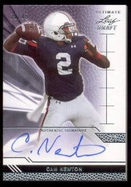 2011 Leaf Ultimate Draft Cam Newton Autograph RC