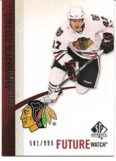 2010-11 Sp Authentic Future Watch Jeremy Morin Rookie RC