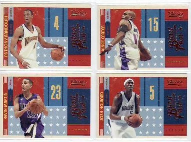2010-11 Panini Classics Basketball Blast From The Past Insert Cards