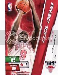 2010-11 Luol Deng Free Adrenalyn NBA 2 Code