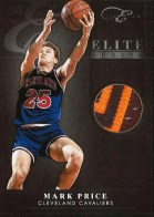 2010-11 Panini Elite Black Box Series Mark Price Prime Jersey