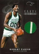 2010-11 Panini Elite Black Box Series Robert Parish Prime Jersey Card