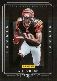2011 Panini Black Friday A.J. Green Rookie RC