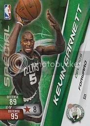 Kevin Garnett Special Adrenalyn Card