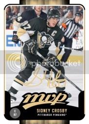 2010-11 Upper Deck Victory MVP Sidney Crosby