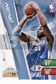 2010-11 Adrenalyn NBA 2 Nene