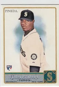 2011 Topps Allen & Ginter Michael Pineda Rookie Card RC