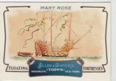 2011 Topps Allen & Ginter Mary Rose