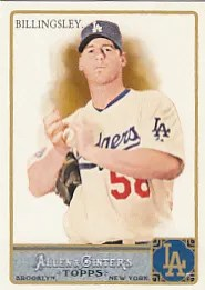 2011 Topps Allen & Ginter Chad Billingsley
