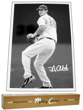 2011 Just Minors Canvas Nick Adenhart Autograph