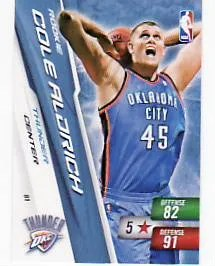 Cole Aldrich Rookie Adrenalyn Card