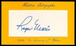 2011 Historic Autographs Roger Maris Cut Signature