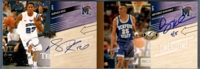 2011 All Time Greats Derrick Rose / Anfernee Hardaway Dual
