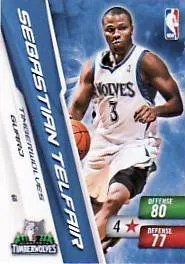 2010-11 NBA Adrenalyn Series 2 Sebastian Telfair