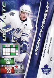 2010-11 Panini Adrenalyn NHL Dion Phaneuf Ultimate Signature Card