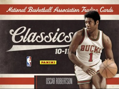 2010/11 Panini Classics NBA Basketball Hobby Box