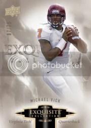 2010 Exquisite Michael Vick