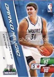 2010-11 NBA Series 2 Adrenalyn Darko Code