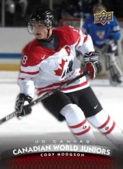 2011-12 Upper Deck Series 2 Canadian World Juniors Cody Hodson Card