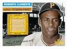 2012 Topps Archives 1956 Topps Relic Roberto Clemente Card