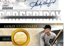 2012 Topps Series 2 Sandy Koufax Career Day Auto