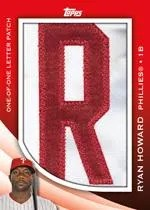 2012 Topps Series 2 Ryan Howard In the Name Relic