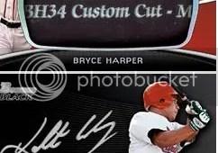 2012 Bowman Platinum Bryce Harper Mondo Bat Plate 1/1