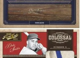 2011 Playoff Prime Cuts Duke Snider Colossal