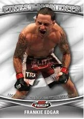 2012 Topps Finest UFC Frankie Edgar Finest Moments Card