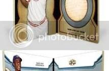 2012 Topps Triple Threads Ernie Banks Bat Nameplate