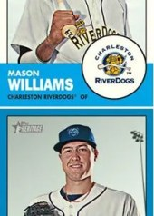 2012 Topps Heritage Minor League Mason Williams