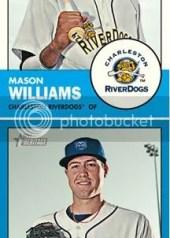 2012 Topps Heritage Minor League Mason Williams