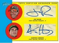 2012 Topps Heritage Minor League Dual Auto