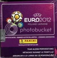 2012 Panini Euro Soccer Futbol Box