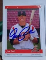 Joe Panik Autograph Card
