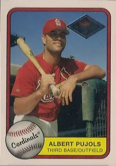 2001 Fleer Platinum Albert Pujols