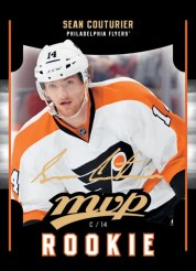 2011-12 Upper Deck Series 2 MVP RC Update Sean Coutuier Card