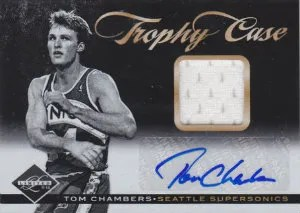2011-12 Panini Limited Tom Chambers Trophy Case Card