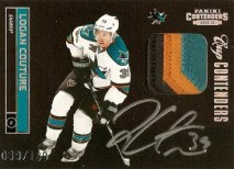 11-12 Contenders Cup Contenders Logan Couture Auto Patch