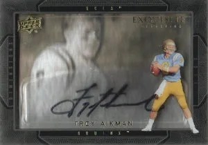 2011 Upper Deck Exquisite Troy Aikman Shadowbox Card
