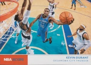 2012-13 Panini NBA Hoops Action Shots Kevin Durant Insert Card
