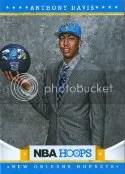 2012-13 Panini NBA Hoops Anthony Davis RC Card