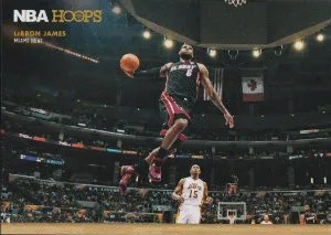 2012-13 Panini NBA Hoops Courtside LeBron James Insert Card