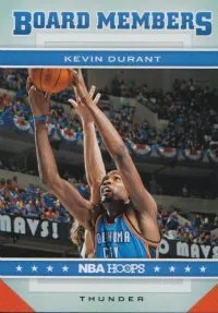2012-13 Panini NBA Hoops Kevin Durant Board Members Insert Card