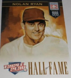 2012 Panini Triple Play Nolan Ryan HOF