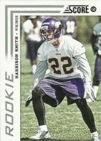 2012 Score Harrison Smith SP Photo Variation RC